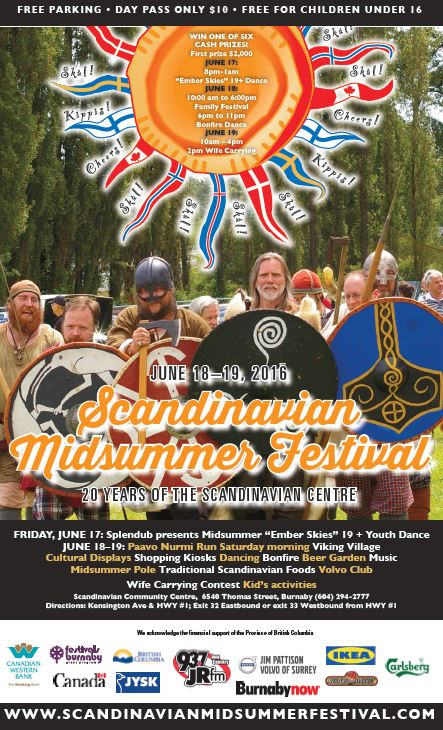 Midsummer poster 2016 with Jysk